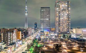 錦糸町の夜景