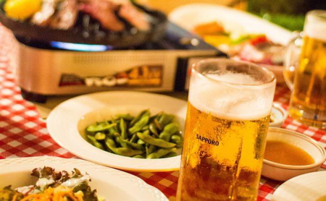 ビールが美味しい季節