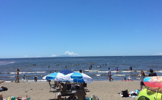 由比ヶ浜ビーチ